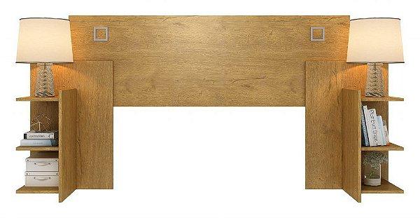 Cabeceira casal- Londrina com medidas para cama 138 e cama 158 visão moveis