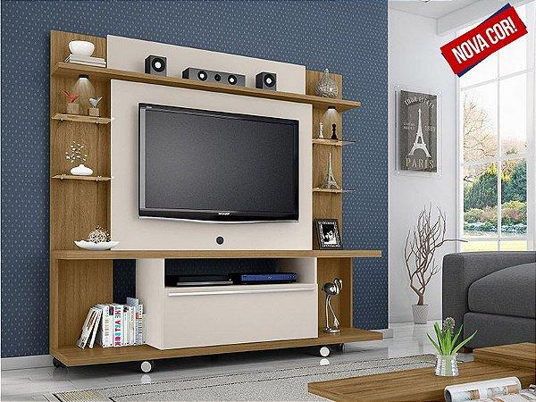 Estante Home para TV até 55 Polegadas 1 Porta New Torino Móveis Bechara