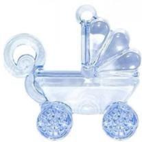 Carrinho de Bebê Acrílico - Pacote com 10 unidades