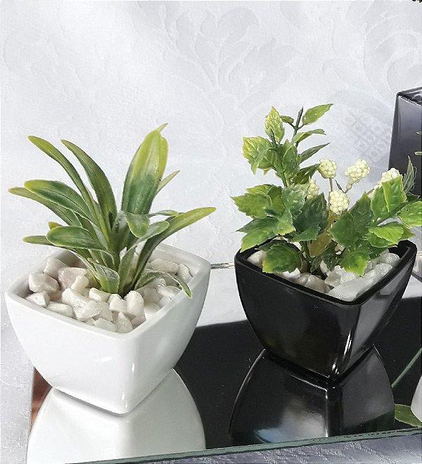 Mini Vaso Decorativo Artificial