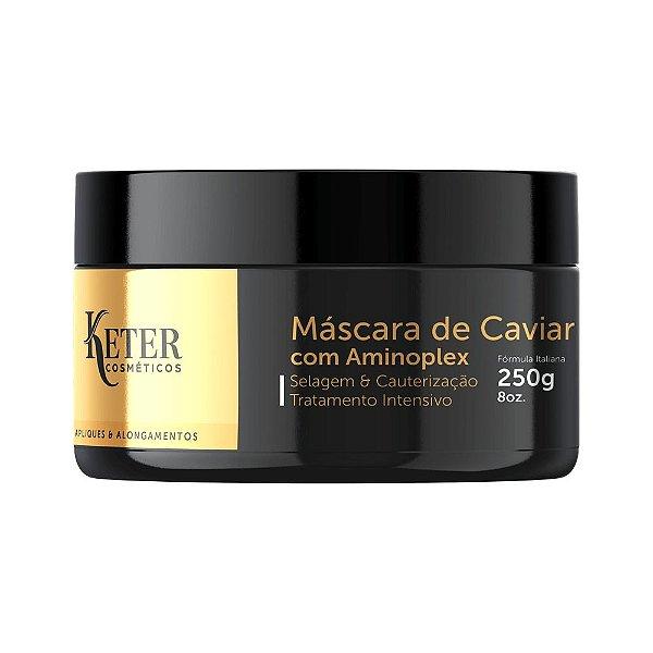 Máscara Caviar & Aminoplex   Tratamento de Apliques e Mega Hair