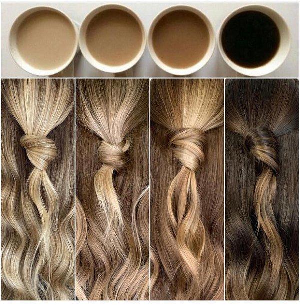 cabelos descoloridos