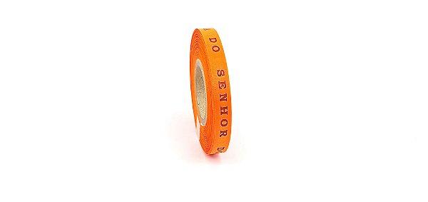 Fitinha do Bonfim 1 rolo com 100 fitas - cor 1-laranja cítrico