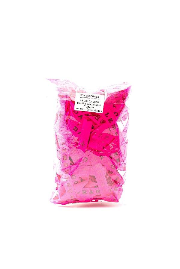 Fitinha do Bonfim 100 fitas cortadas - cor 15-Pink