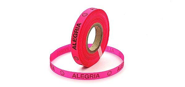Fitinha Alegria. 1 rolo com 100 fitas. 5 cores disponíveis