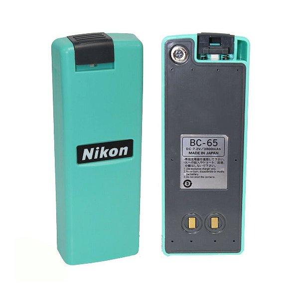 Bateria Nikon BC65 para Estação Total mod. DTM / NPR / NPL