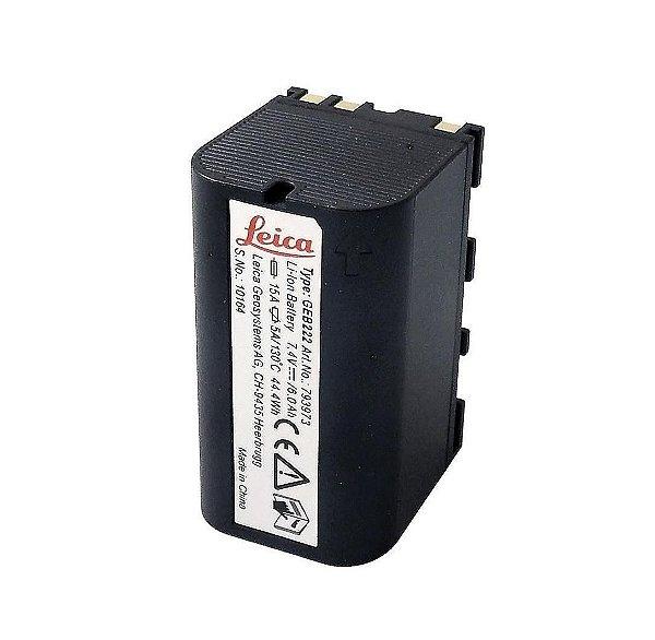 Bateria Leica Geb222 - Estação Total Gps Melhor Que Geb221