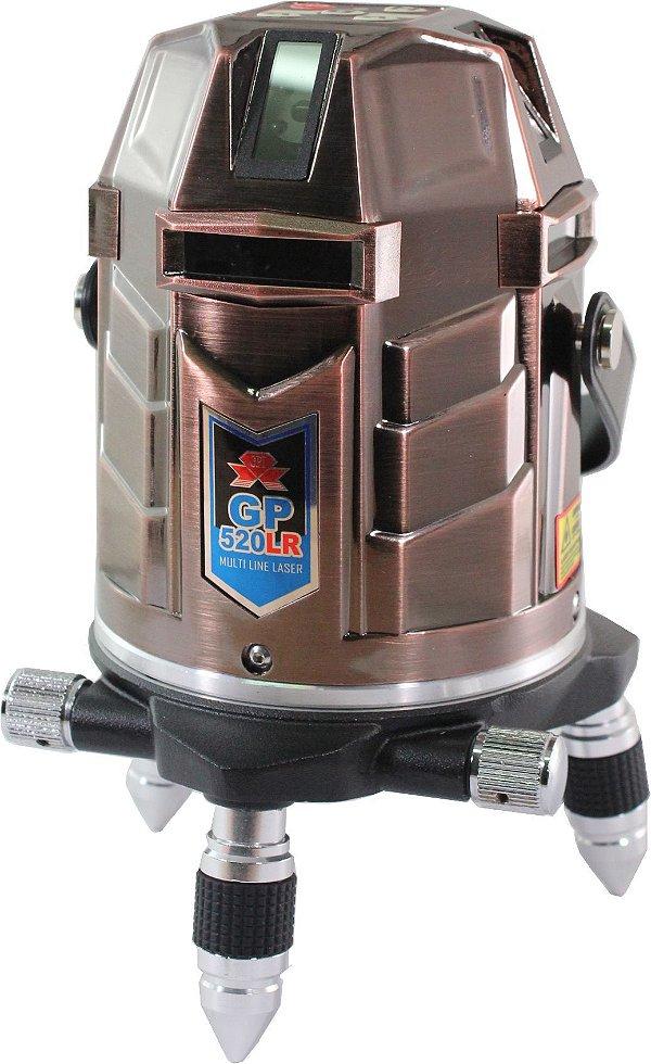 Nível Laser Giant GP-520LR - Kit com Maleta e Óculos