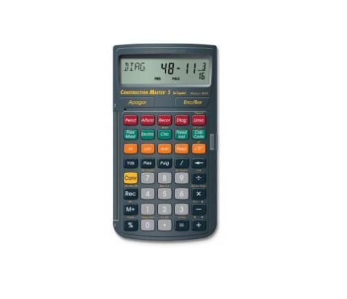 Calculadora Construction Master 5 Espanhol - Nf E Garantia