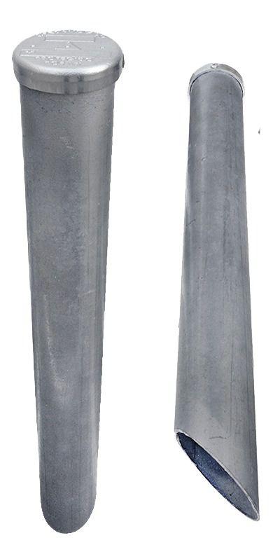 Marco De Aço Galvanizado C/ Placa Tip Tampa De Marretar 40cm