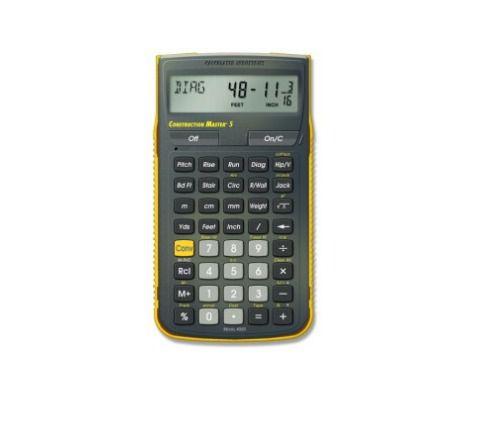 Calculadora Construction Master 5 - Com Nf E Garantia