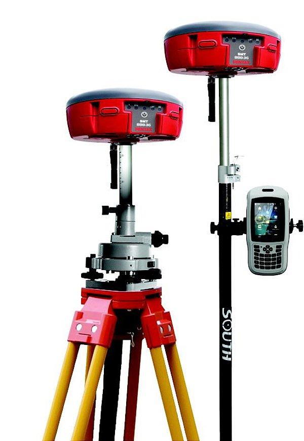 Par de GNSS RTK Pentax SMT888-3G L1/L2 - SEMINOVO