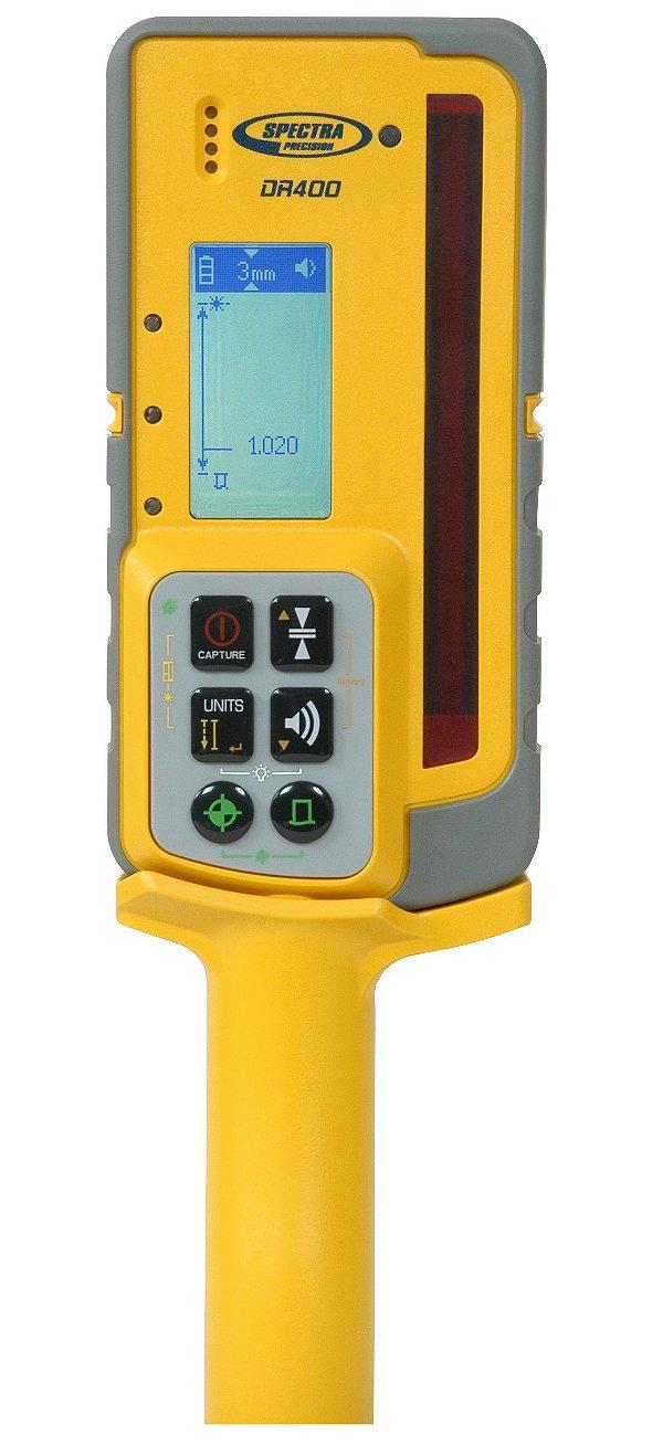 Receptor Spectra Precision e Trena Laser DIGIROD DR400
