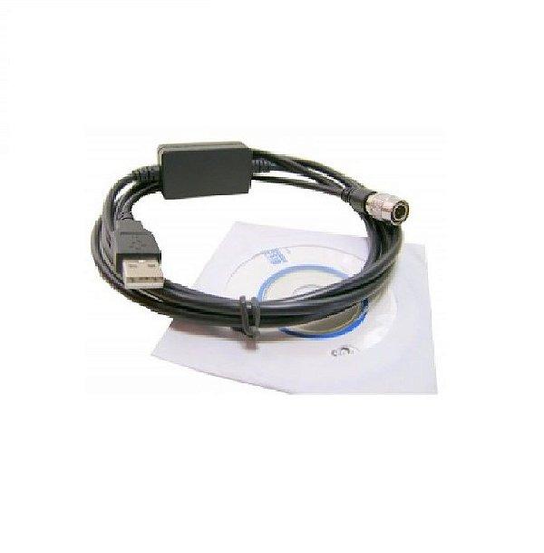 Cabo de Dados USB para Estação Total NIKON