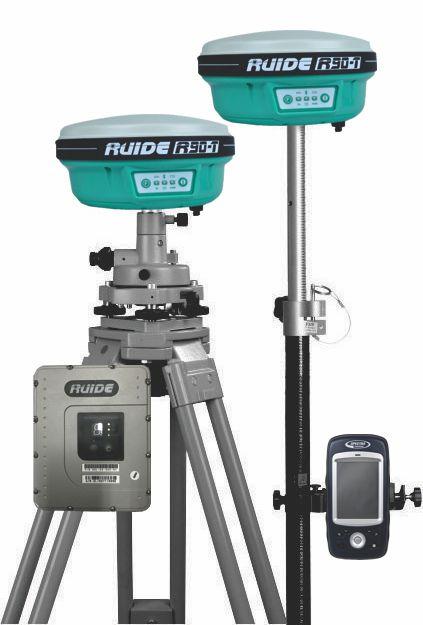 Par de GNSS RTK Ruide R90T c/ controladora e rádio- SEMINOVO