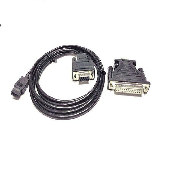 Cabo Nikon p/ conectar HP48 no pc (serial) (usado)