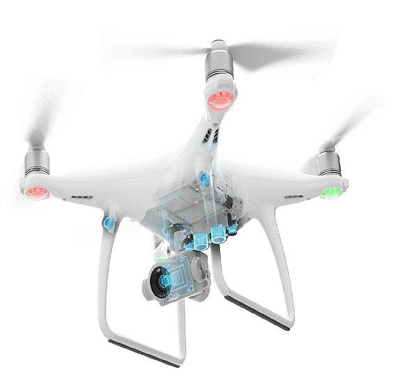 Drone DJI Phantom 4 Advanced c/ 2 baterias - SEMINOVO