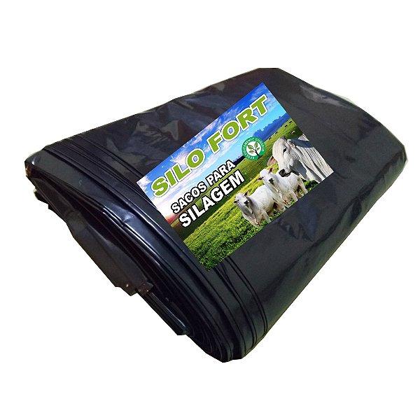 Sacos Para Silagem Preto 51 x 100 - 200 micras C/ 100 unidades