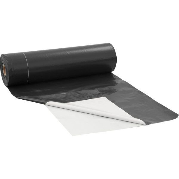 Lona Plastica Preta X Branca 6x50 45kg 200 Micras