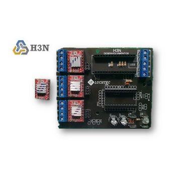 Placa De Controle H3N + 2 Arduinos