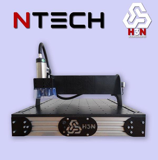 CNC H3N NTECH - 50x50x5 C/ Spindle de 1 CV (24 Mil RPM)