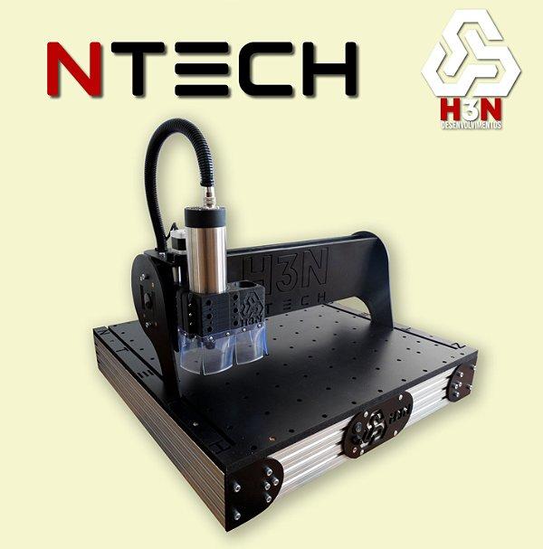 CNC H3N NTECH - 50x50x5 - C/ Spindle de 1 CV (24 Mil RPM)