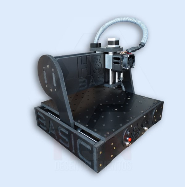 CNC H3N Basic Ourives Spindle 0.7cv 30x30x7cm