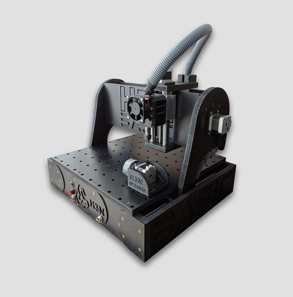 CNC H3N Basic Ourives 0.7cv 30x30x7cm - Com Gravação Interna