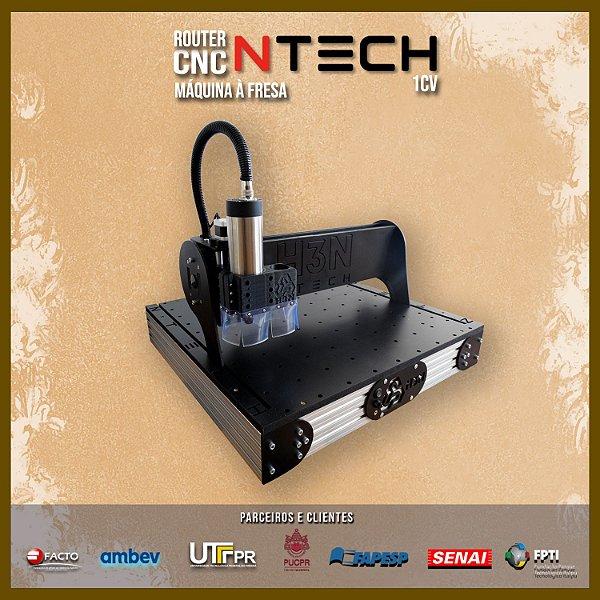CNC H3N Ntech Artesanato Spindle 1cv 50x50x7cm promoção