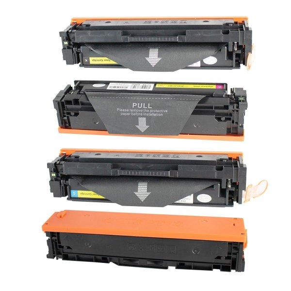 Kit 4 Toner Compatível HP CF500x Cf501X CF502X CF503X 202X 2,5K