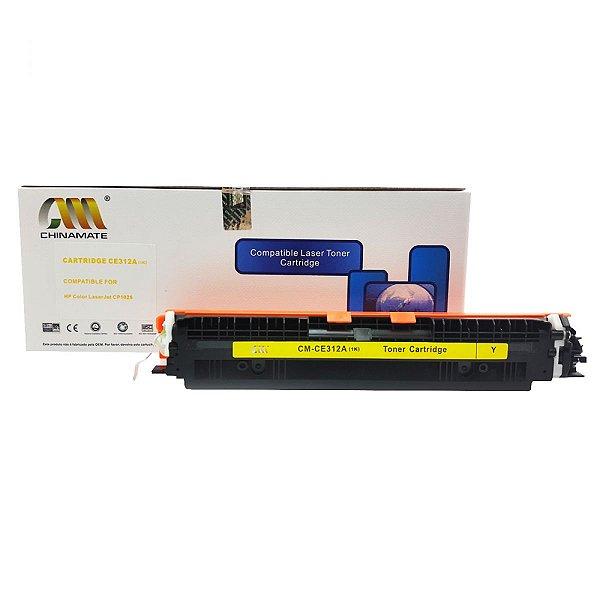 Toner comapativel CE312 CF352 Amarelo 126a CP1020 CP1025
