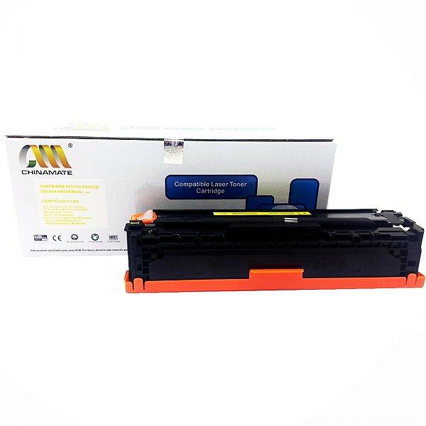 Toner compativel HP CF212/CE/322/CB542 Amarelo M251 CP1215