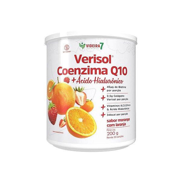 Colágeno Verisol + CoQ10 + Ác. Hialuronico Morango c/ Laranja 200g - Videira 7