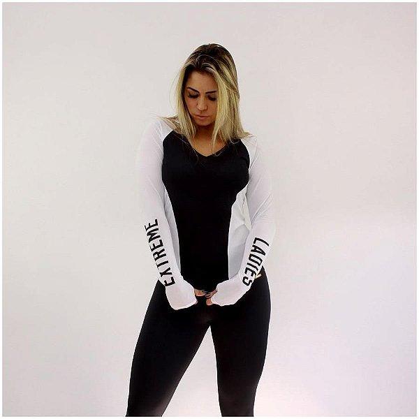 Blusa Running Black & White