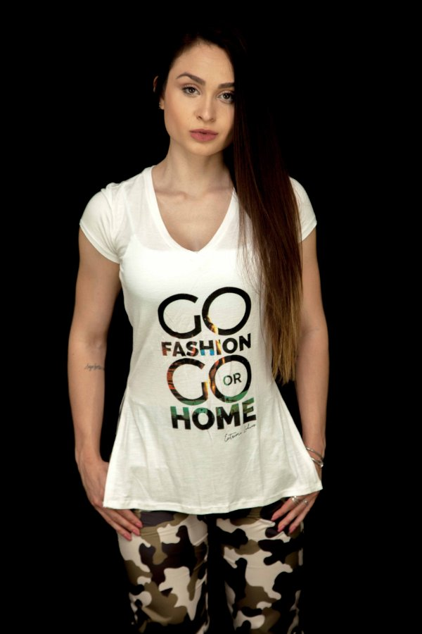 Camiseta GO Fashion