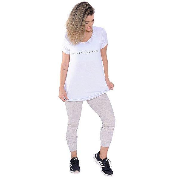 Camiseta Extreme Ladies White / Blusa Branca Manga Curta