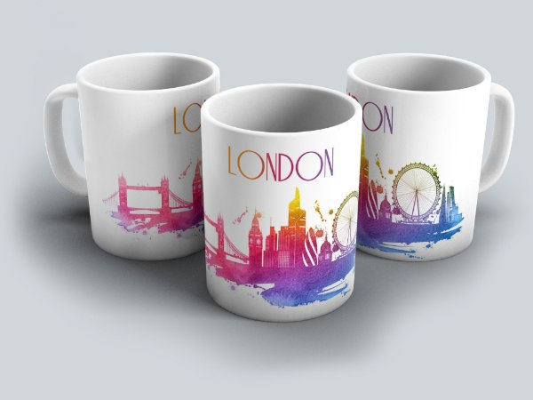 """Caneca """"Londres"""""""