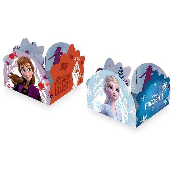 Porta Forminha De Papel Festa Aniversário Frozen 50 Unidades