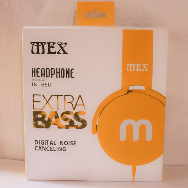 HEADPHONE IN-650 EXTRA BASS