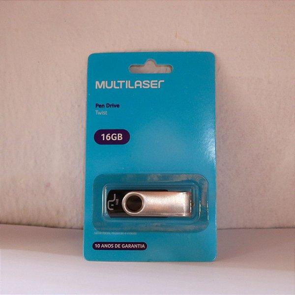 MULTILASER - PEN DRIVE - 16GB