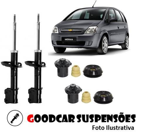 AMORTECEDORES DIANT. + KIT COMPLETO - CHEVROLET MERIVA - 2003 A 2012