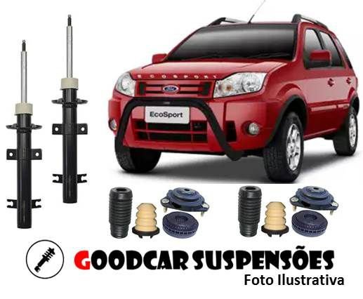 AMORTECEDORES DIANT. + KIT COMPLETO - FORD ECOSPORT - 2002 A 2012