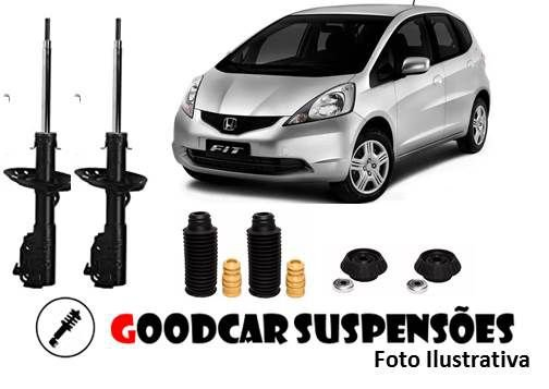 AMORTECEDORES DIANT. + KIT COMPLETO - HONDA FIT 2004 A 2008