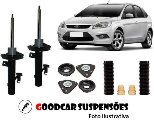 AMORTECEDORES DIANT. + KIT COMPLETO - FORD FOCUS - 2009 A 2013