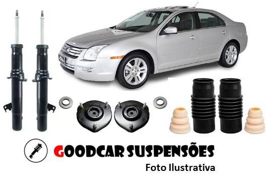 AMORTECEDORES DIANT. + KIT COMPLETO - FORD FUSION - 2006 A 2009