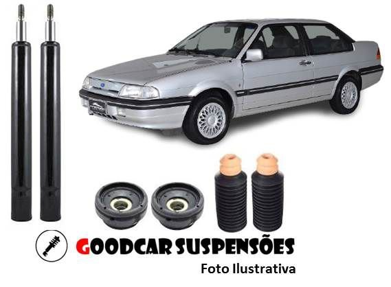 AMORTECEDORES DIANT. + KIT COMPLETO - FORD VERSAILLES  - 1991 A 1996