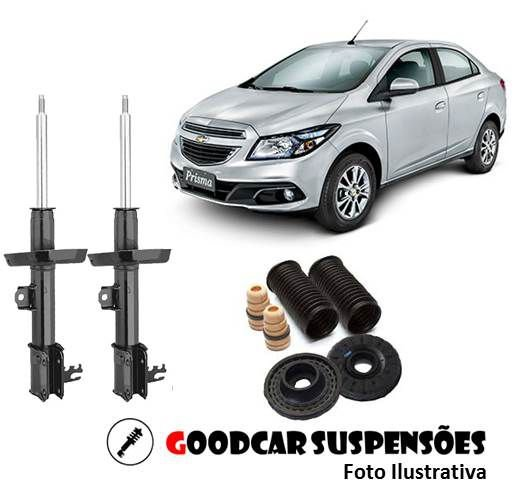 AMORTECEDORES DIANT. + KIT COMPLETO - CHEVROLET ONIX - 2012 A 2017