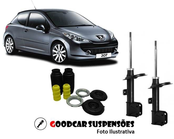 AMORTECEDORES DIANT. + KIT COMPLETO - PEUGEOT 307 - 2007 A 2012