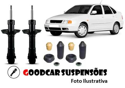 AMORTECEDORES DIANT. + KIT COMPLETO - VOLKSWAGEN POLO CLASSIC - 1996 A 2001