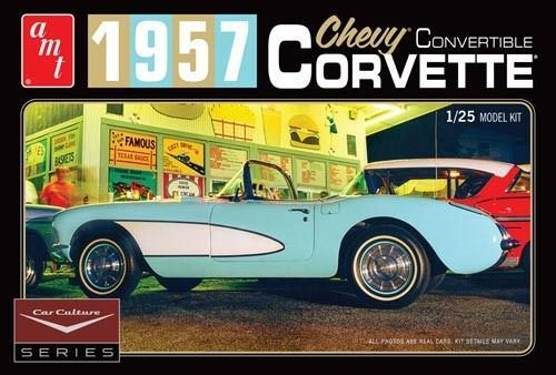 Corvete Conversível 1957 1/25